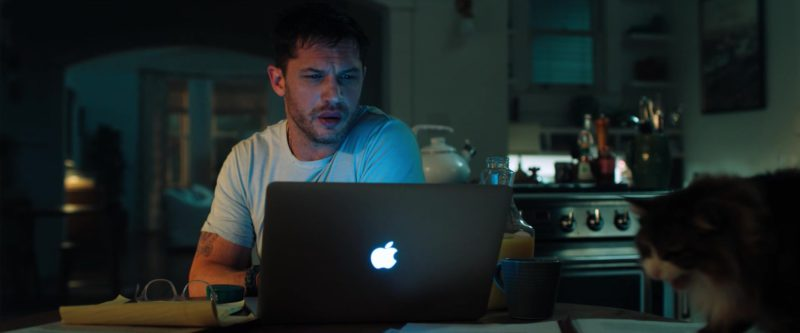Apple MacBook Pro Laptop Used by Tom Hardy in Venom (2018) - Movie Product Placement
