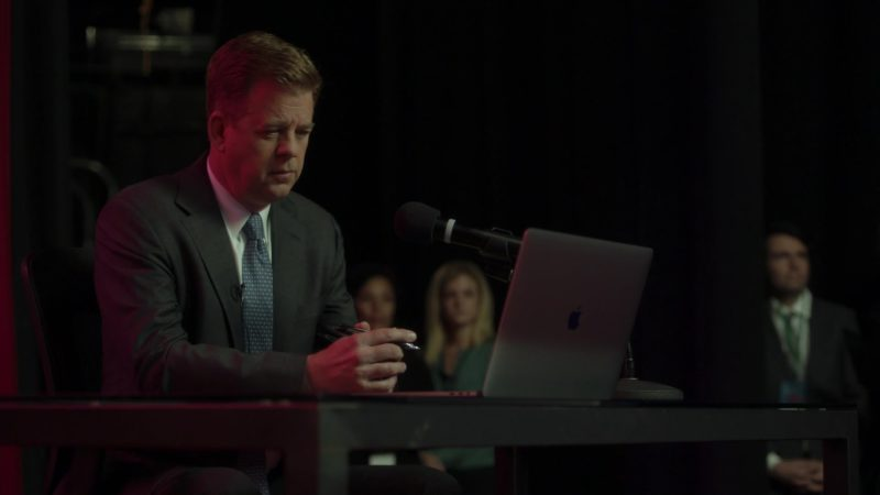 Apple MacBook Pro Laptop in Ray Donovan Season 6, Episode 3: He Be Tight. He Be Mean. (2018) - TV Show Product Placement