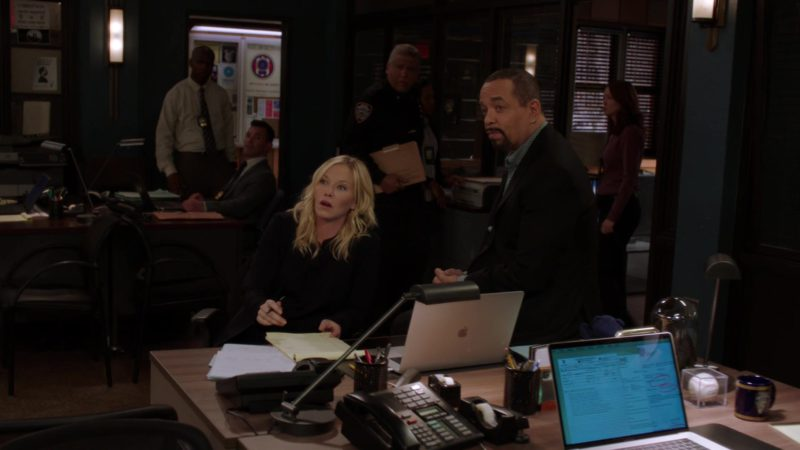 Apple MacBook Pro Laptops in Law & Order: Special Victims Unit: Hell's Kitchen (2018) - TV Show Product Placement
