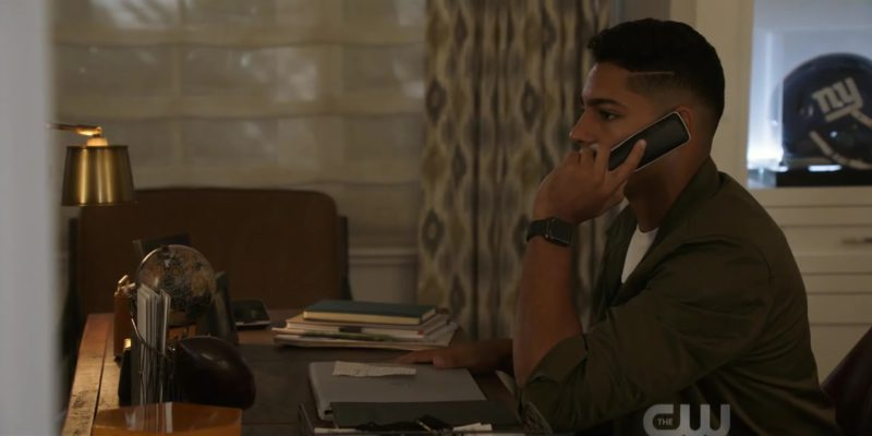 Apple Watch Smartwatch Worn by Michael Evans Behling in All American Season 1 Episode 4: Lose Yourself (2018) - TV Show Product Placement
