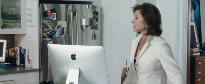Apple iMac Computer Used by Jacqueline Bisset in Blue Night (2018) Movie Product Placement