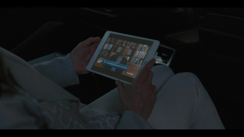 Apple iPad Mini Tablet Used by Diane Lane in House of Cards Season 6 Episode 8 Chapter 73 (2018) TV Show Product Placement