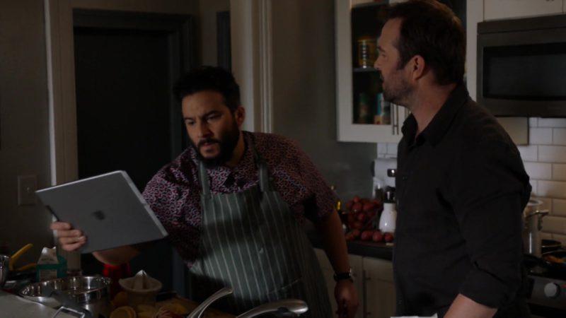 "Apple iPad Tablet in Blindspot: Season 4, Episode 4, ""Sous-Vide"" (2018) - TV Show Product Placement"