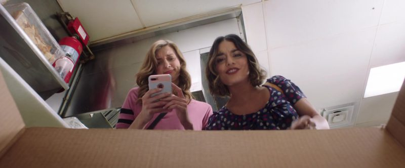 Apple iPhone Smartphone Used by Lauren Lapkus in Dog Days (2018) - Movie Product Placement