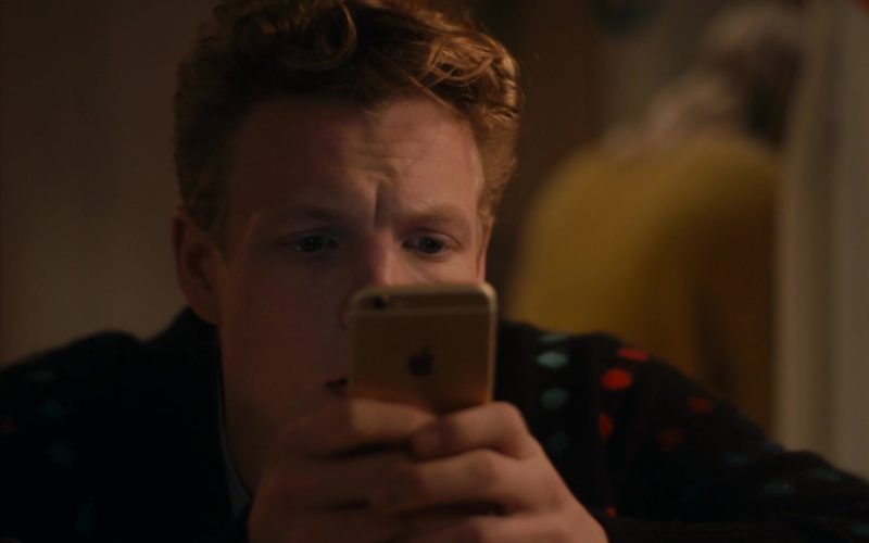 "Apple iPhone Smartphone Used by Patrick Gibson in ""In A Relationship"" (1)"