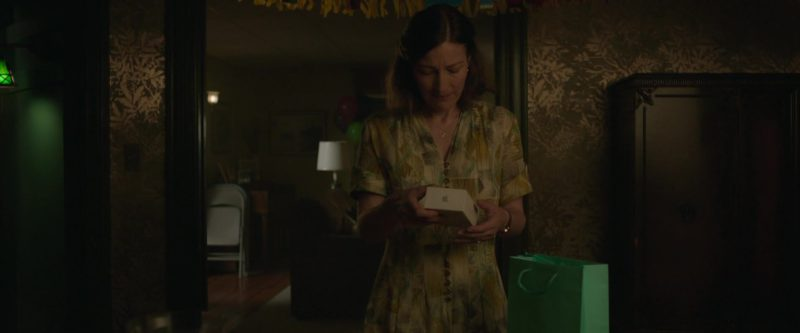 Apple iPhone Used by Kelly Macdonald in Puzzle (2018) Movie Product Placement