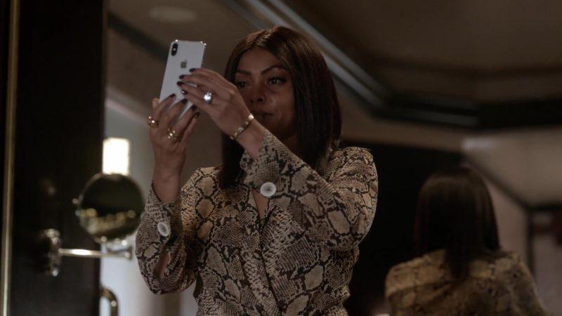 Apple iPhone Used by Taraji P. Henson in Empire Season 5 Episode 7: Treasons, Stratagems, and Spoils (2018) - TV Show Product Placement