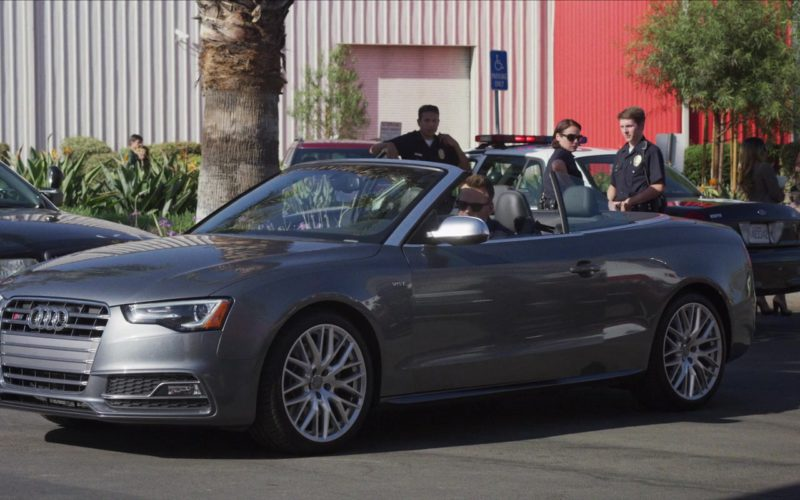 Audi Convertible Car Used by Joel McHale in The Happytime Murders