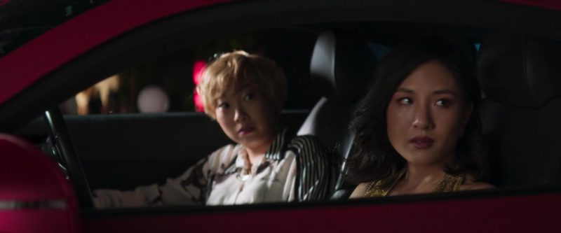 Audi R8 Sports Car Used by Awkwafina in Crazy Rich Asians (2018) Movie Product Placement