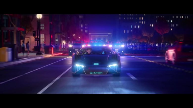 Audi RSQ E-TRON Car in Spies in Disguise (2019) - Animation Movie Product Placement