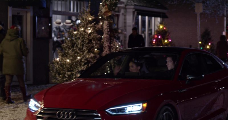 Audi S5 Red Car in The Holiday Calendar (2018) - Movie Product Placement