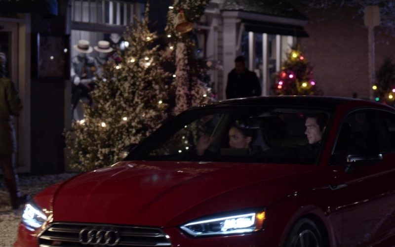 Audi S5 Red Car in The Holiday Calendar (1)