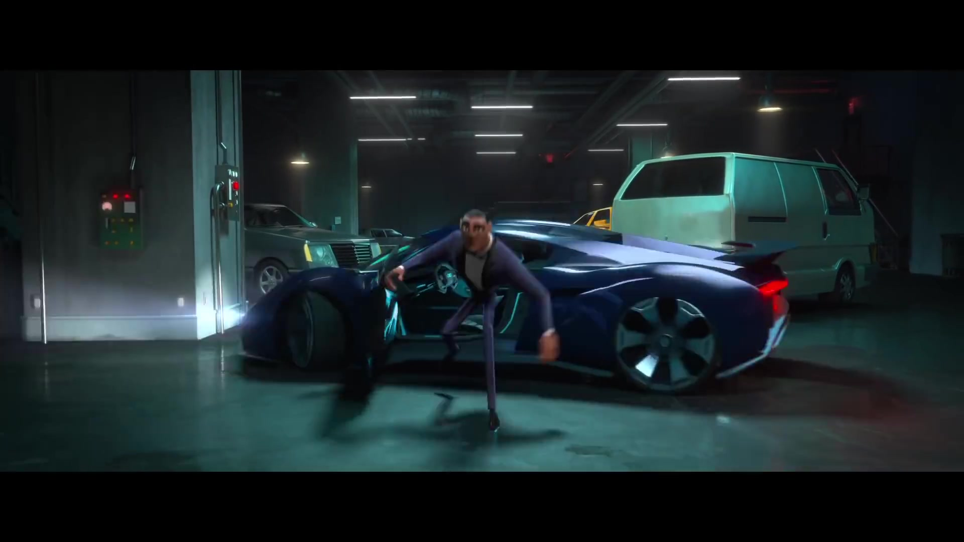 Audi Rsq E Tron Car In Spies In Disguise 2019 Animation