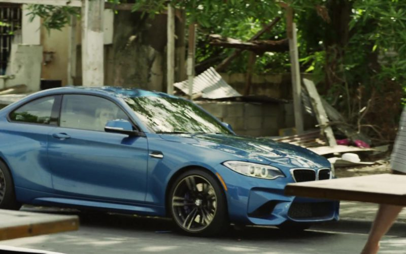 BMW M2 Blue Sports Car Used by Adam Brody (Nick Talman) in StartUp (2)