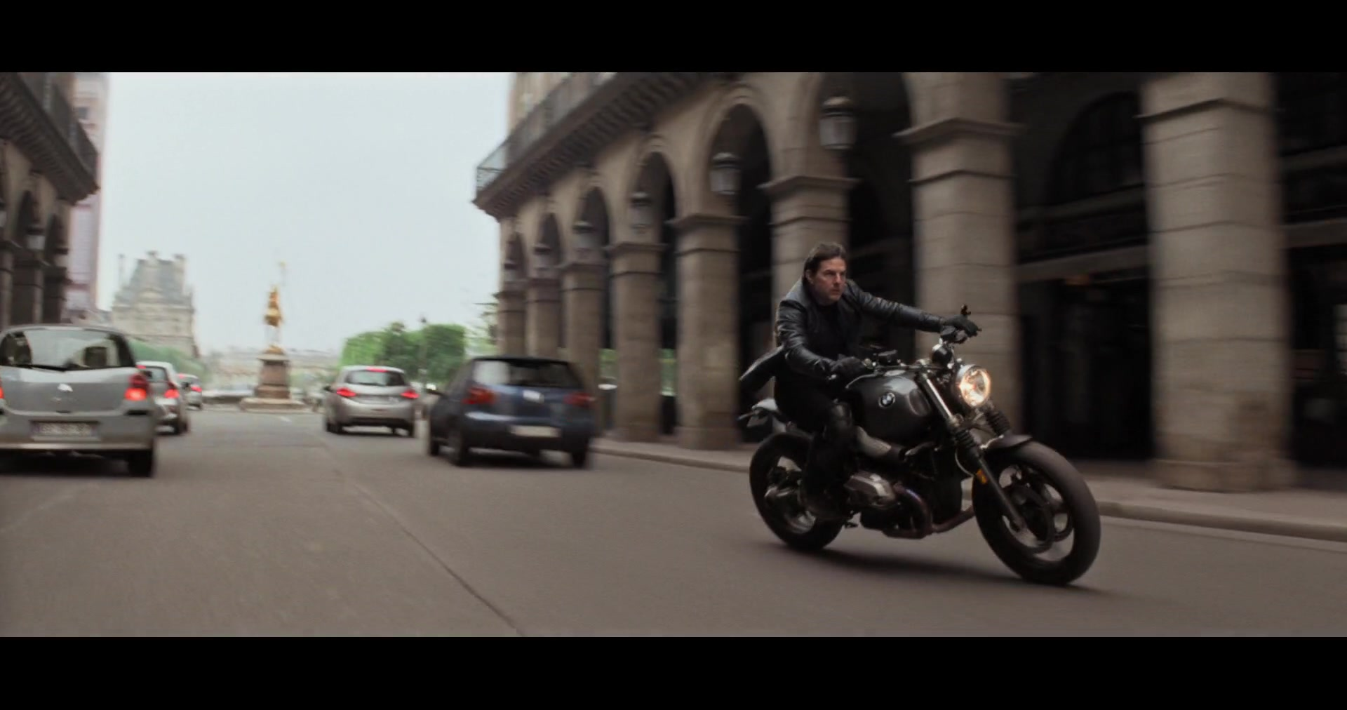 Bmw R Ninet Scrambler Motorcycle Used By Tom Cruise Ethan Hunt In