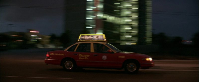 Bacardi Silver Rum Taxi Advertising in Collateral (2004) - Movie Product Placement