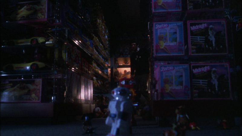 Barbie Dolls in Gremlins (1984) Movie Product Placement