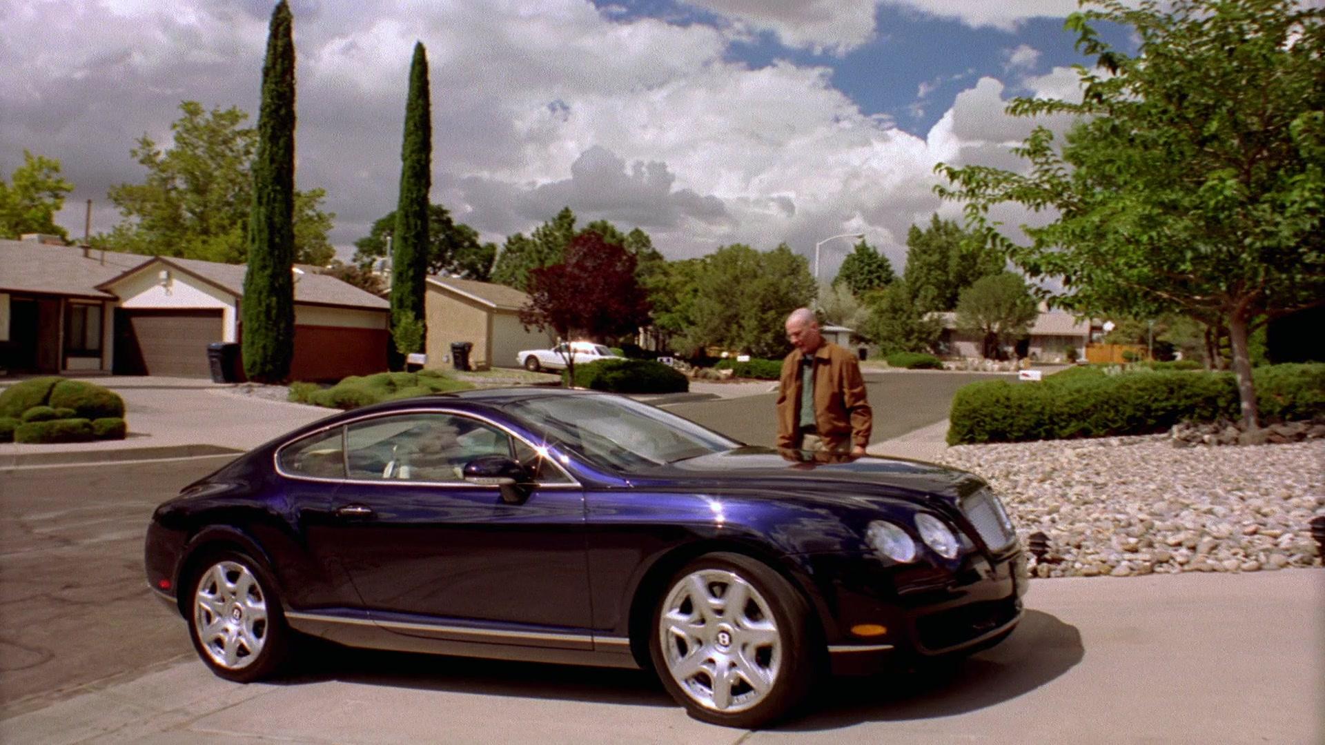 bentley continental gt luxury vehicle  breaking bad season  episode  peekaboo  tv show