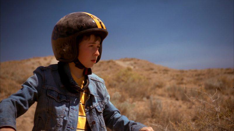 Bilt Motorcycle Helmet in Breaking Bad Season 5 Episode 5: Dead Freight (2012) - TV Show Product Placement