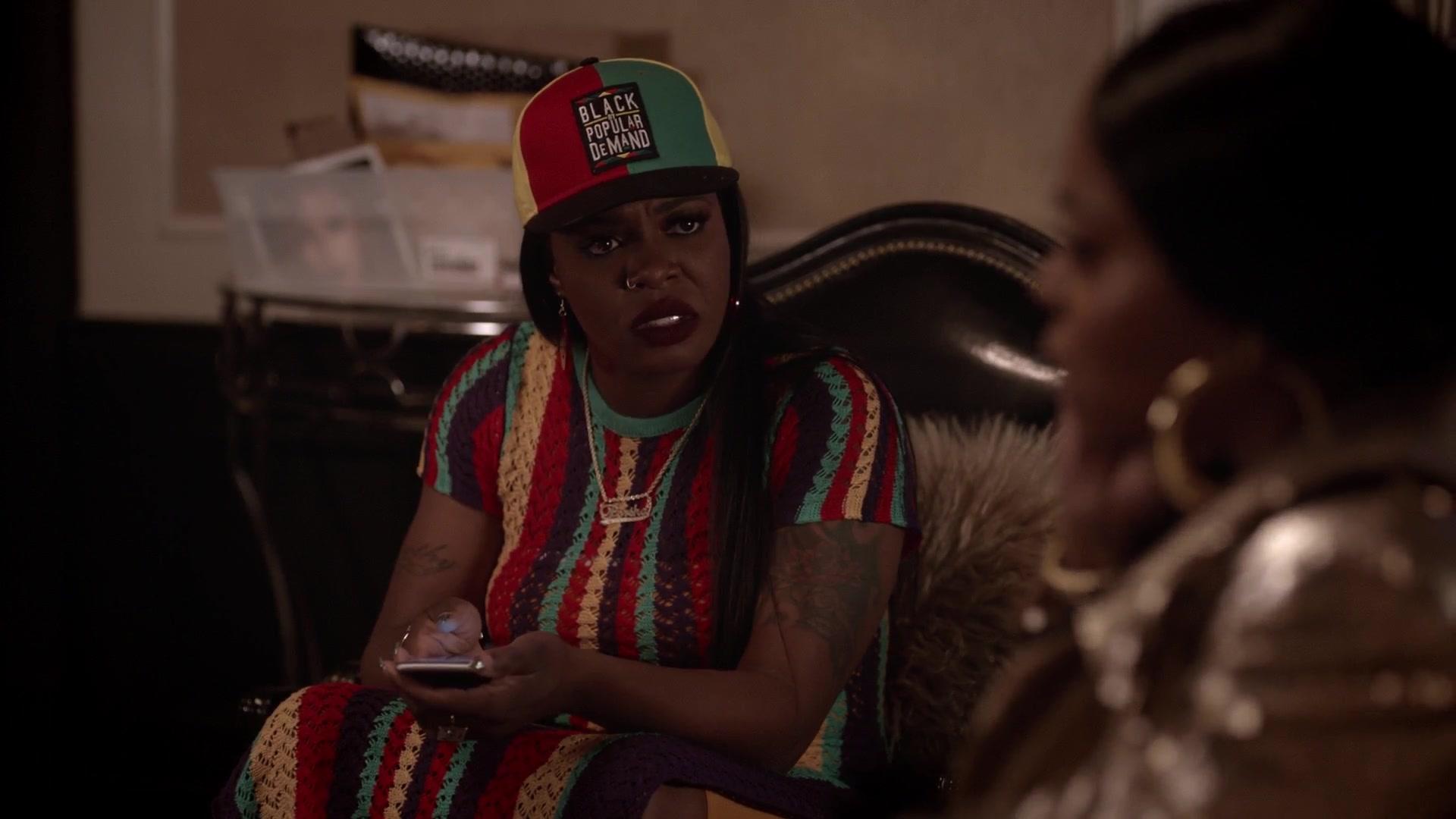 Black By Popular Demand Cap Worn By Ta Rhonda Jones In
