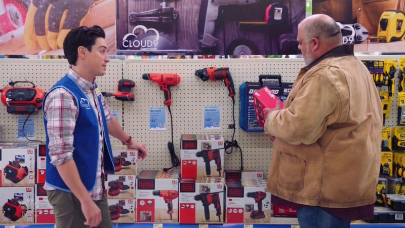 Black & Decker in Superstore Season 4 Episode 7: New Initiative (2018) TV Show Product Placement