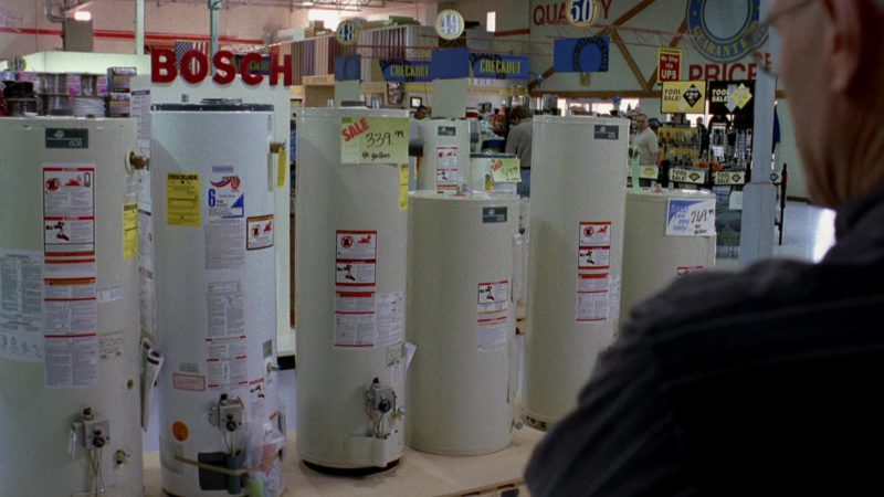 Bosch Boilers in Breaking Bad Season 2 Episode 10: Over (2009) - TV Show Product Placement