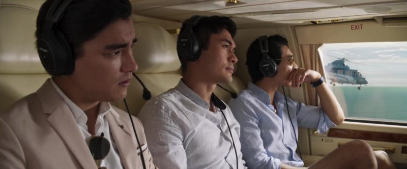 Bose Headsets in Crazy Rich Asians (2018) - Movie Product Placement