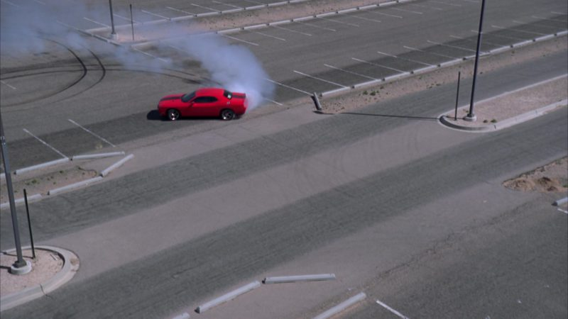"""Dodge Challenger Car Used by Bryan Cranston (Walter White) in Breaking Bad Season 4 Episode 7 """"Problem Dog"""" (2011) TV Show Product Placement"""