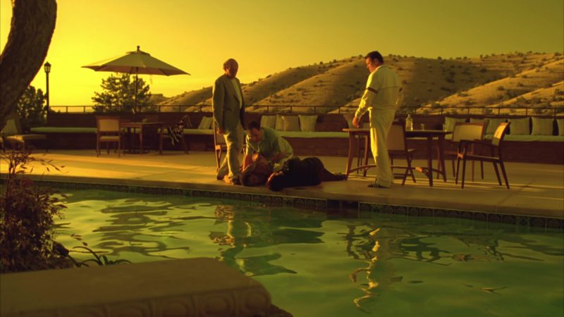 """Sergio Tacchini Men's White Tracksuit in Breaking Bad Season 4 Episode 8 """"Hermanos"""" (2011) - TV Show Product Placement"""