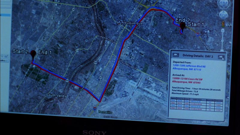 "Sony Vaio VPCY2 Laptop and Google Earth Computer Program Used by Dean Norris (Hank Schrader) in Breaking Bad Season 4 Episode 9 ""Bug"" (2011) - TV Show Product Placement"