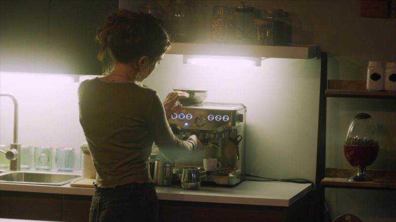 """Breville Barista Express Espresso Machine in StartUp: Season 3 Episode 2 """"Sweat Equity"""" (2018) - TV Show Product Placement"""