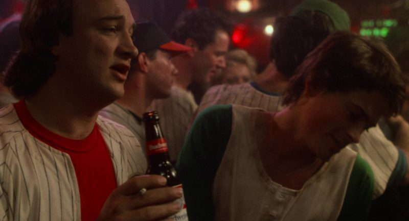 Budweiser Beer Drunk by Jim Belushi in About Last Night… (1986) - Movie Product Placement