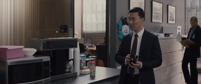Bunn Coffee Machine , Nestle Coffee-Mate and Java One Coffee in Peppermint (2018) Movie Product Placement