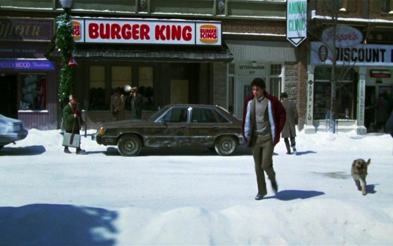 Burger King Restaurant in Gremlins (1)