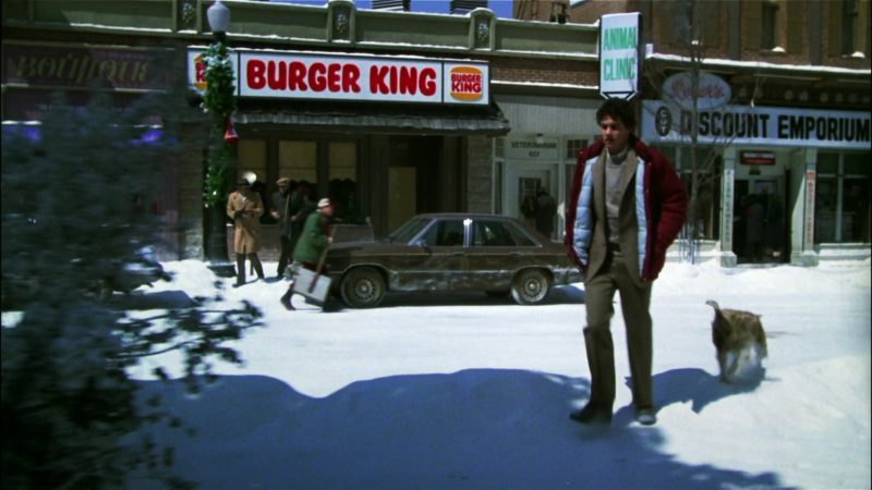Burger King Restaurant in Gremlins (1984) - Movie Product Placement