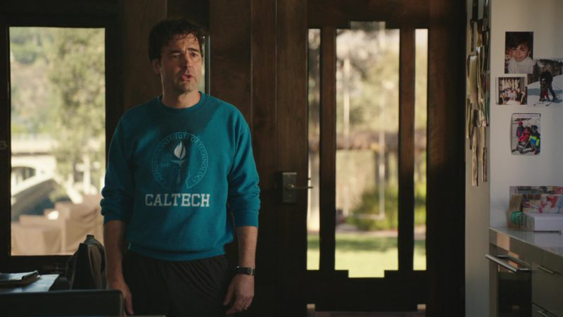 """CALTECH Sweatshirt Worn by Ron Livingston in The Romanoffs Season 1, Episode 5, """"Bright and High Circle"""" (2018) TV Show Product Placement"""