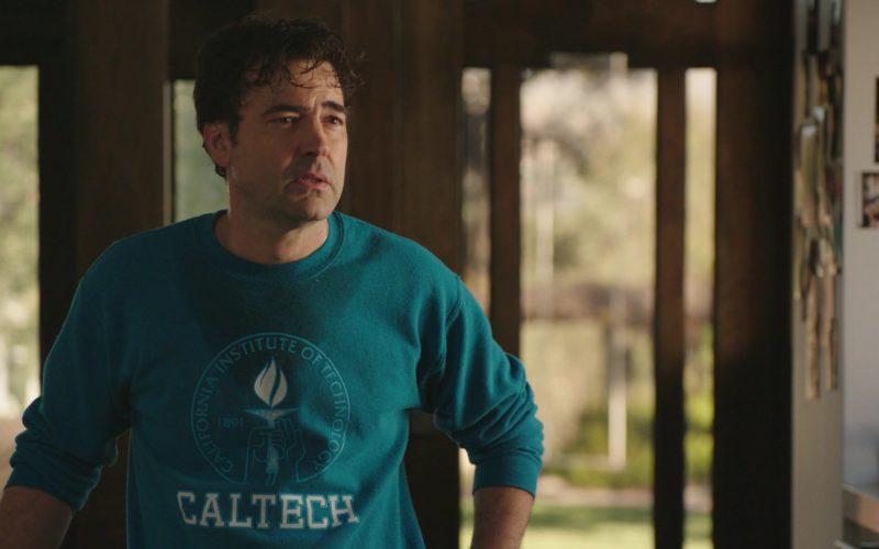 CALTECH Sweatshirt Worn by Ron Livingston in The Romanoffs (4)