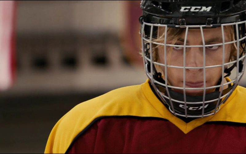 CCM Hockey Helmet Worn by Ross Lynch in Status Update (4)
