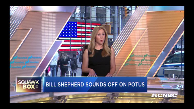 CNBC Squawk Box Television Program in House of Cards Season 6 Episode 8 Chapter 73 (2018) TV Show Product Placement