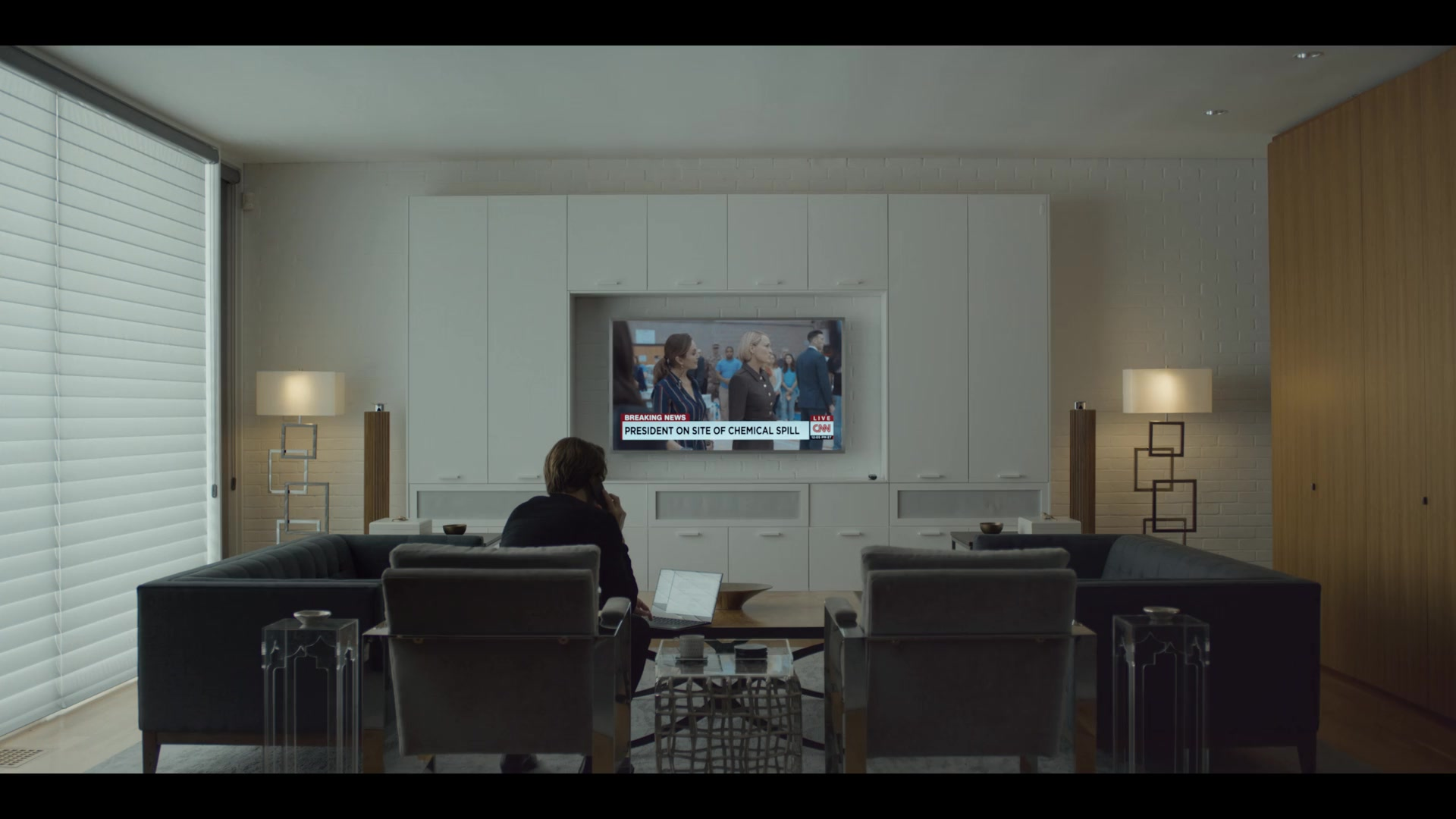 Cnn Tv Channel In House Of Cards Season 6 Episode 2 Chapter 67 2018