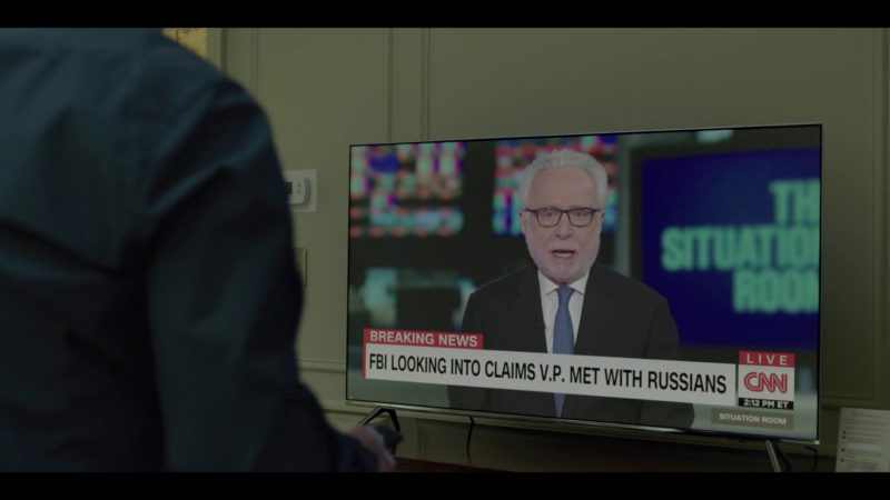 CNN TV Channel in House of Cards Season 6 Episode 5 Chapter 70 (2018) TV Show Product Placement