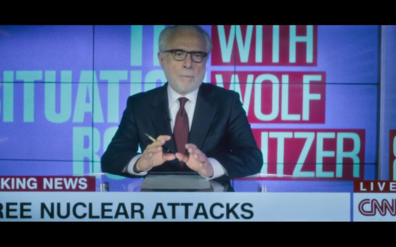 CNN TV Channel in Mission Impossible – Fallout