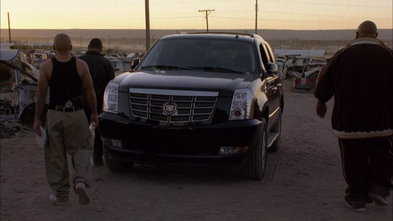 Cadillac Escalade Car in Breaking Bad Season 1 Episode 7: A No-Rough-Stuff-Type Deal (2008) - TV Show Product Placement