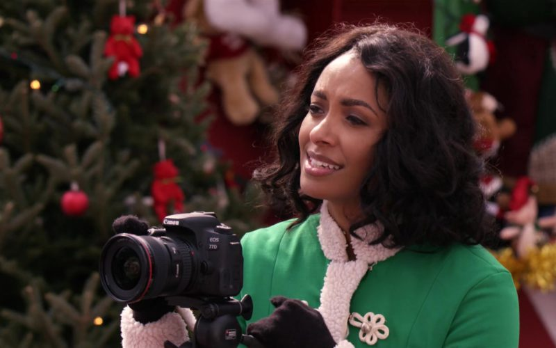 Canon 77D EOS DSLR Camera Used by Kat Graham in The Holiday Calendar (13)