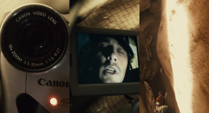 Canon Camcorder Used by James Franco in 127 Hours (2010) Movie