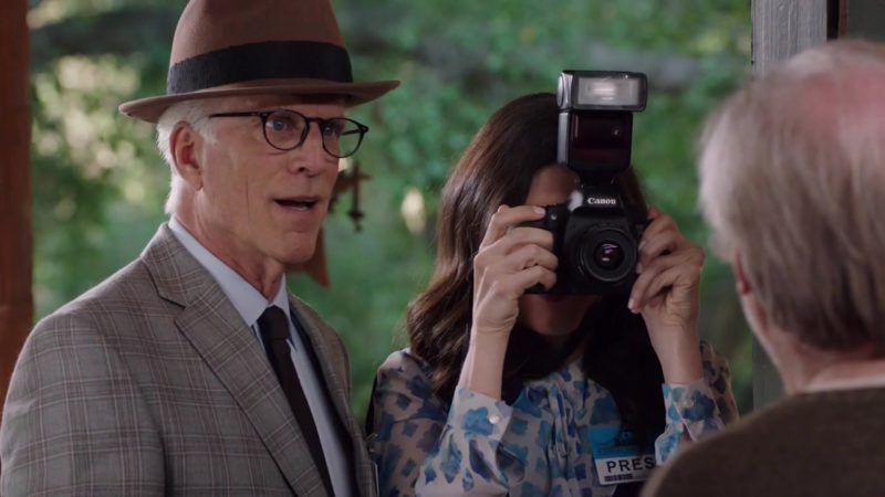 Canon Camera Used by D'Arcy Carden in The Good Place: Season 3 Episode 9 (2018) TV Show
