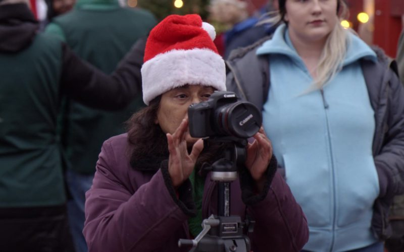 Canon EOS Camera Used by Woman in The Holiday Calendar (1)