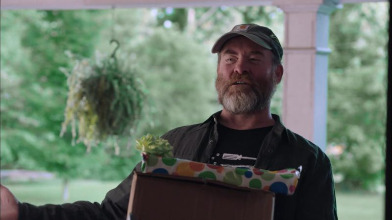 "Carhartt Cap Worn by David Koechner in Stan Against Evil Season 3 Episode 3: ""Larva My Life"" (2018) TV Show Product Placement"