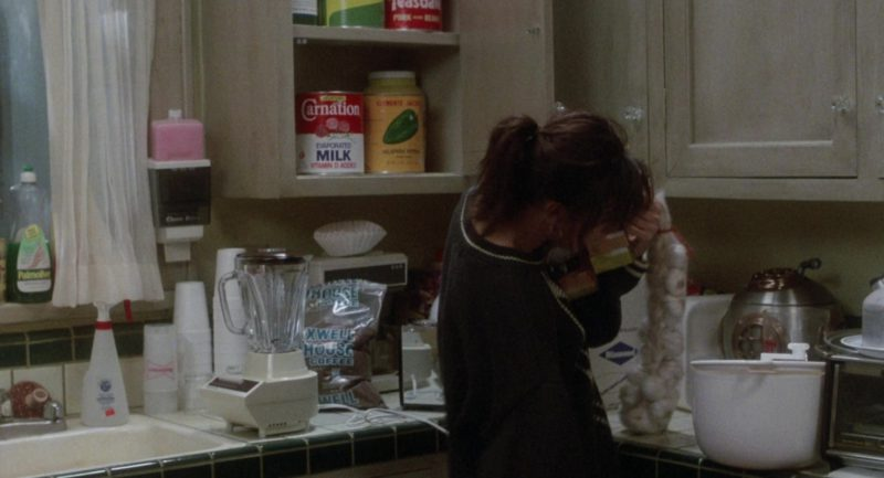 Carnation Milk and Maxwell House Coffee in About Last Night… (1986) Movie Product Placement