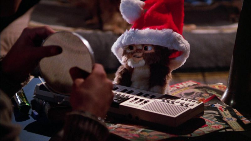 Casio Digital Piano in Gremlins (1984) - Movie Product Placement